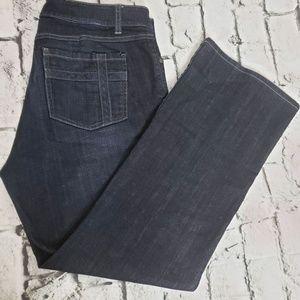 CAbi Dark Wash 5 Pocket Jeans sz 14